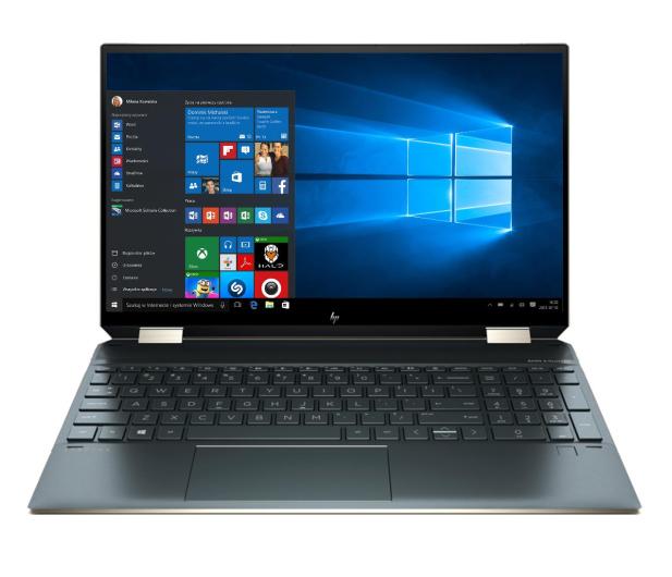 HP Spectre 15 x360 i7-1165G7/16GB/1TB/Win10 Blue - 640055 - zdjęcie