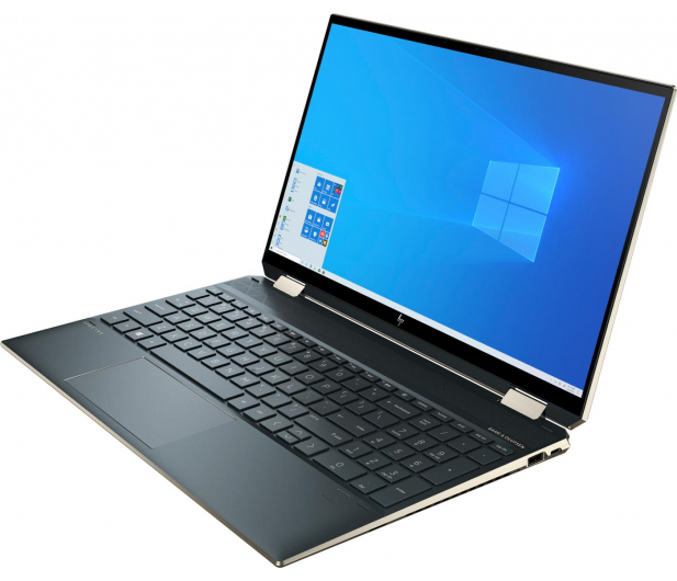 HP Spectre 15 x360 i7-1165G7/16GB/1TB/Win10 Blue - 640055 - zdjęcie 2
