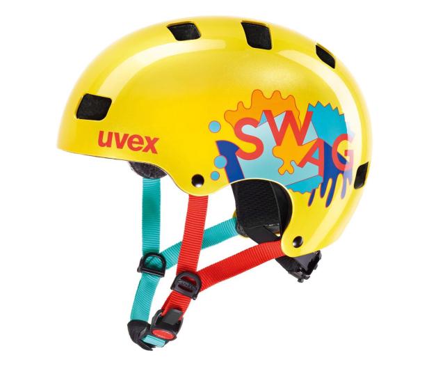 UVEX Kask Kid 3 żółty 55-58 cm - 634974 - zdjęcie