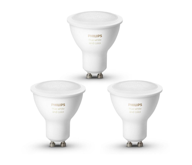 Philips Hue White and Color Ambiance (3szt. GU10 5,7W) - 637055 - zdjęcie