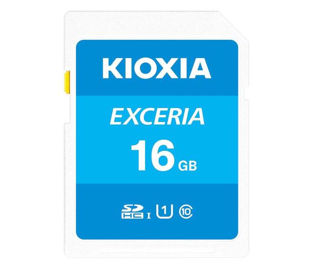KIOXIA 16GB SDHC Exceria 100MB/s C10 UHS-I U1 - 636688 - zdjęcie