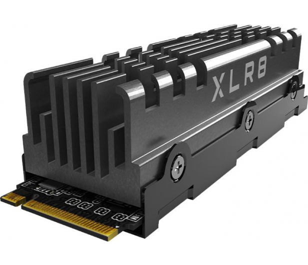 PNY 2TB M.2 PCIe Gen4 NVMe XLR8 CS3040 Heatsink - 635775 - zdjęcie 2