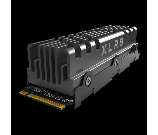 PNY 2TB M.2 PCIe Gen4 NVMe XLR8 CS3140 Heatsink - 635780 - zdjęcie 2
