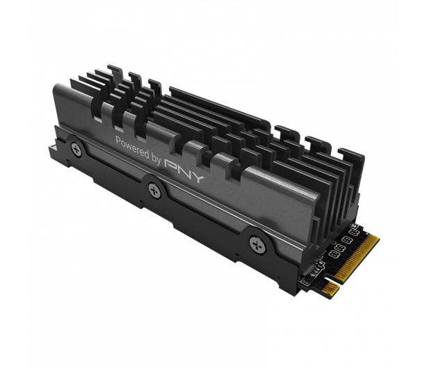 PNY 2TB M.2 PCIe Gen4 NVMe XLR8 CS3140 Heatsink - 635780 - zdjęcie 3