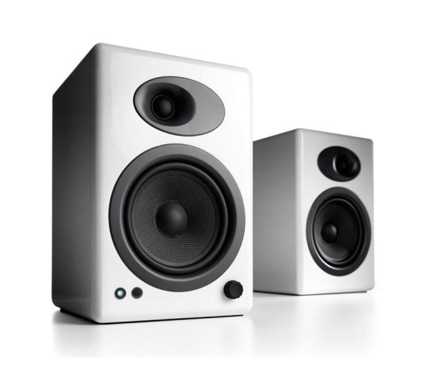 Audioengine A5+ Białe para - 634327 - zdjęcie