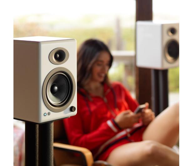 Audioengine A5+ BT Białe para - 634322 - zdjęcie 4