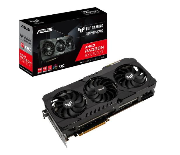 ASUS Radeon RX 6700 XT TUF GAMING OC 12GB GDDR6 - 638180 - zdjęcie