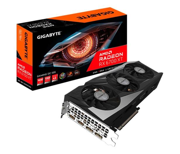 Gigabyte Radeon RX 6700 XT GAMING OC 12GB GDDR6 - 637730 - zdjęcie