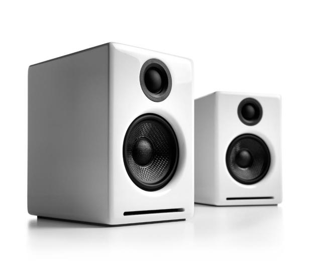 Audioengine A2+ BT Białe para - 634318 - zdjęcie