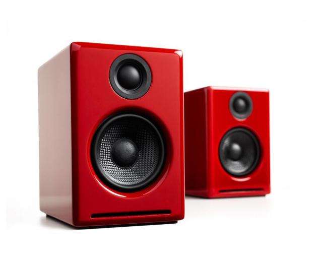 Audioengine A2+ BT Czerwone para - 634320 - zdjęcie