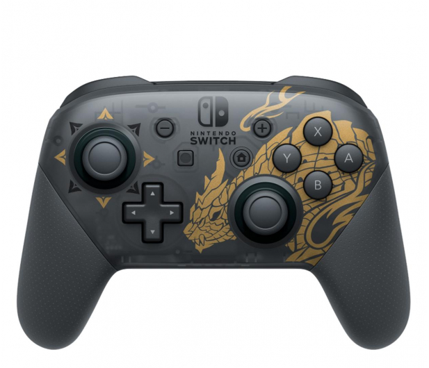 Nintendo Switch Pro Controller - Monster Hunter Rise - 639517 - zdjęcie