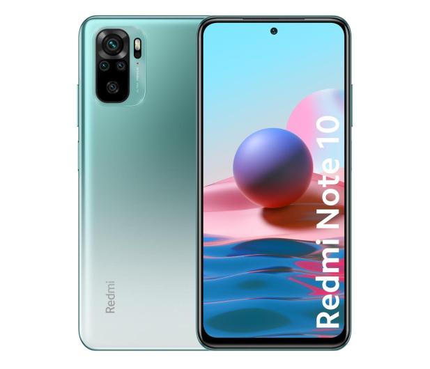 Xiaomi Redmi Note 10 4/64GB Lake Green  - 639881 - zdjęcie