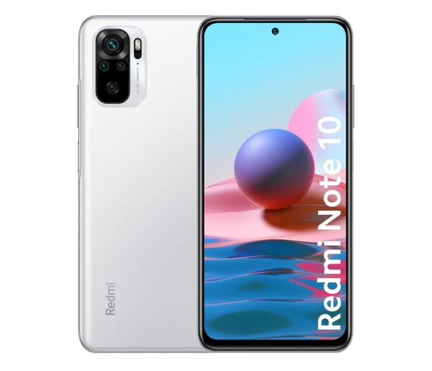 Xiaomi Redmi Note 10 4/64GB Pebble White  - 639883 - zdjęcie