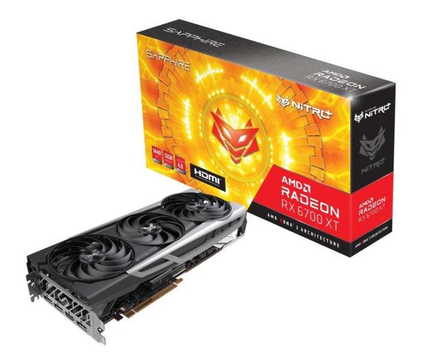 Sapphire Radeon RX 6700 XT NITRO+ 12GB GDDR6 - 641504 - zdjęcie