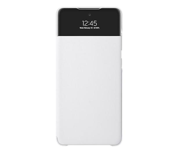 Samsung S View Wallet Cover do Galaxy A72 biały - 637673 - zdjęcie