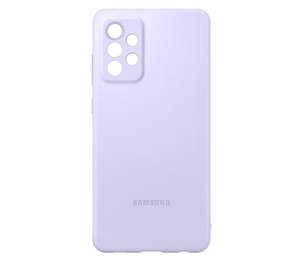 Samsung Silicone Cover do Galaxy A72 Violet - 637677 - zdjęcie 4