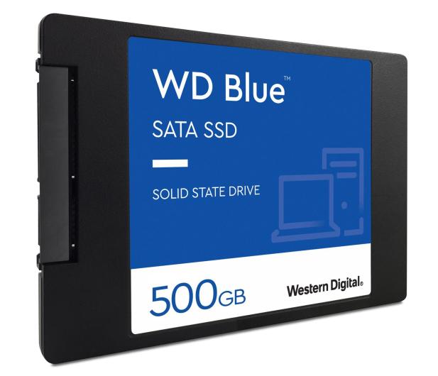 """WD 500GB 2,5"""" SATA SSD Blue - 380308 - zdjęcie 3"""