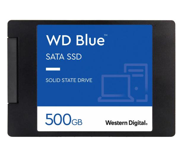 """WD 500GB 2,5"""" SATA SSD Blue - 380308 - zdjęcie"""