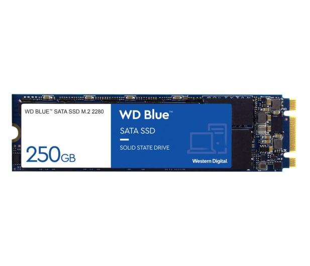 WD 250GB M.2 SATA SSD Blue - 380306 - zdjęcie