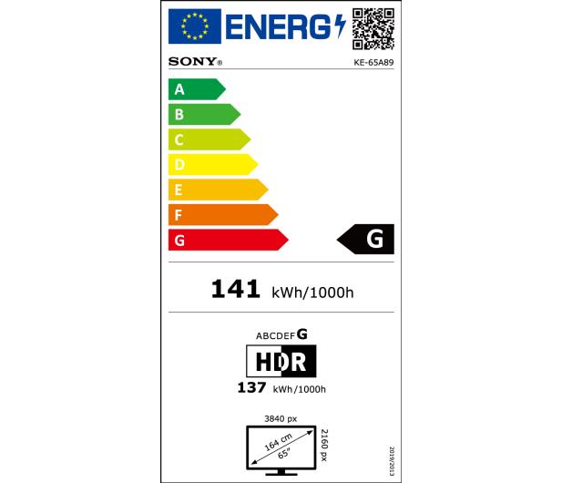 Sony OLED KE-65A89 - 642601 - zdjęcie 2