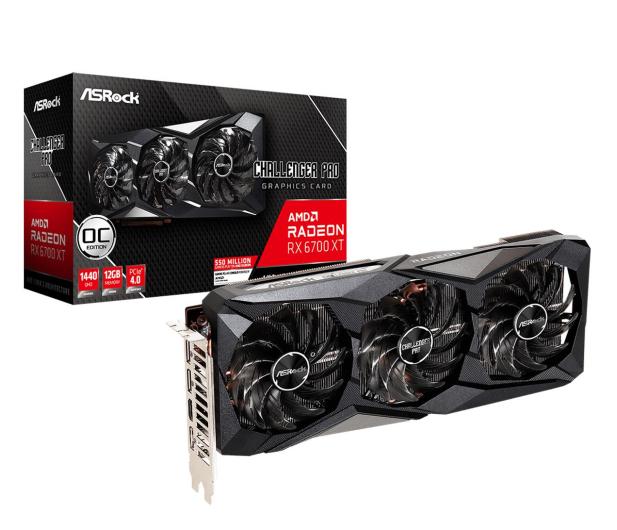 ASRock Radeon RX 6700 XT Challenger Pro OC 12GB GDDR6 - 642311 - zdjęcie