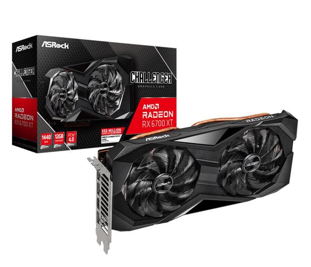 ASRock Radeon RX 6700 XT Challenger D 12GB GDDR6 - 642314 - zdjęcie