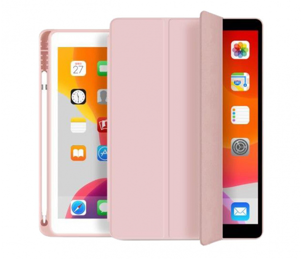 Tech-Protect SmartCase Pen do iPad (9./8./7. gen) pink - 639141 - zdjęcie