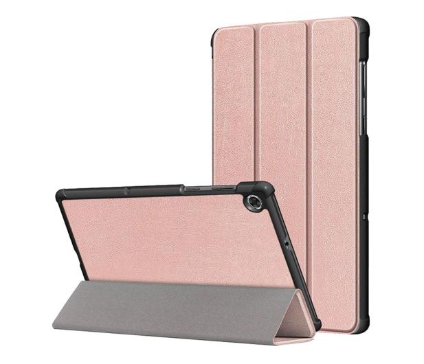 Tech-Protect SmartCase do Lenovo Tab M10 (2. gen.) rose gold - 638717 - zdjęcie