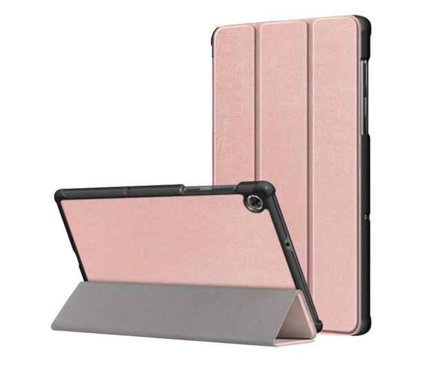 Tech-Protect SmartCase do Lenovo Tab M10 Plus rose gold - 638709 - zdjęcie