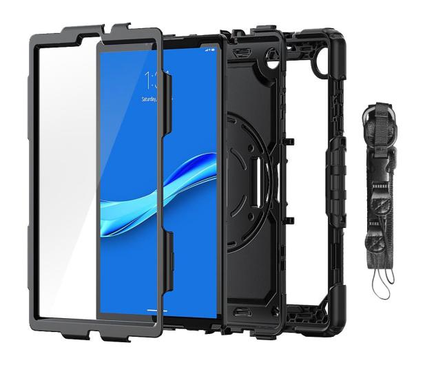 Tech-Protect Solid360 do Lenovo Tab M10 Plus black - 638711 - zdjęcie 3