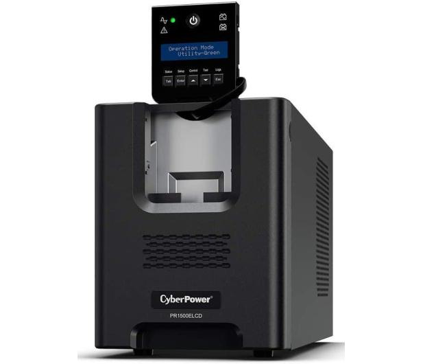 CyberPower UPS PR1500ELCD (1500VA/1350W) - 636511 - zdjęcie 3