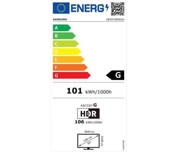 Samsung UE55TU8502 - 546938 - zdjęcie 2