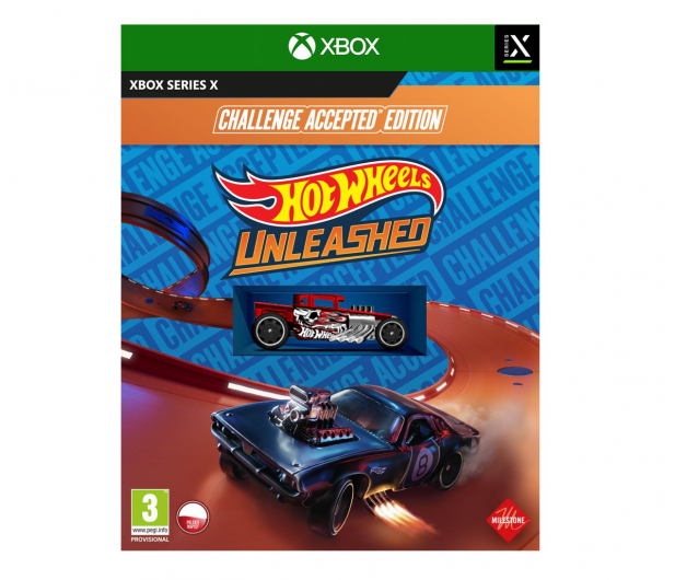 Xbox Hot Wheels Unleashed - Challenge Accepted™ Edition - 635826 - zdjęcie