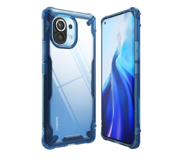 Ringke Fusion X do Xiaomi Mi 11 niebieski - 635569 - zdjęcie