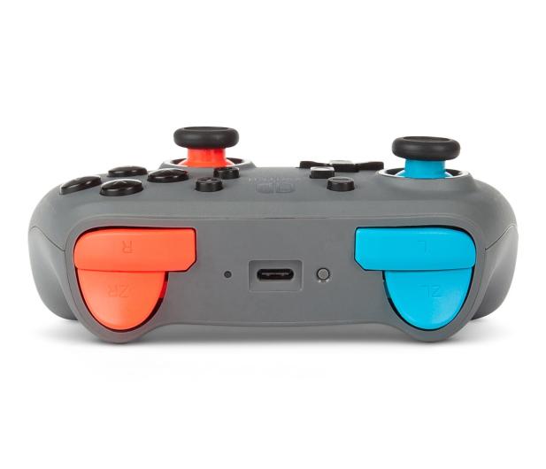 PowerA SWITCH Pad NANO bezprzew. Grey Neon Blue/Red - 635887 - zdjęcie 4