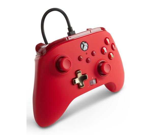 PowerA XS Pad przewodowy Enhanced Czerwony - 635891 - zdjęcie 5