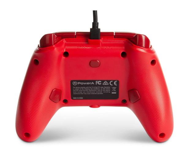 PowerA XS Pad przewodowy Enhanced Czerwony - 635891 - zdjęcie 7
