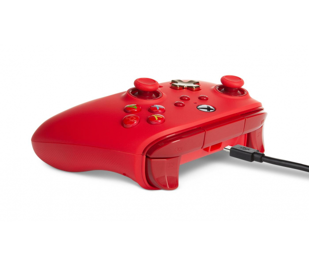PowerA XS Pad przewodowy Enhanced Czerwony - 635891 - zdjęcie 6