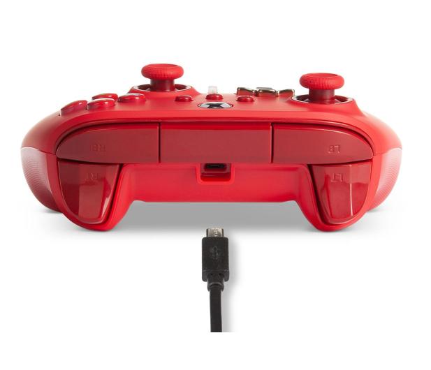 PowerA XS Pad przewodowy Enhanced Czerwony - 635891 - zdjęcie 8