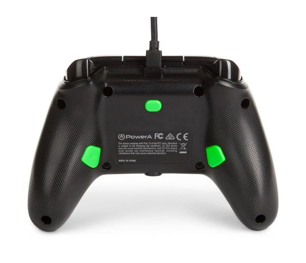 PowerA XS Pad przewodowy Enhanced Green Hint - 635893 - zdjęcie 5
