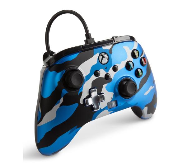 PowerA XS Pad przewodowy Enhanced Metallic Blue Camo - 635895 - zdjęcie 4