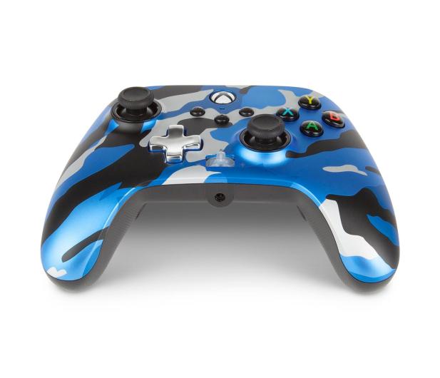 PowerA XS Pad przewodowy Enhanced Metallic Blue Camo - 635895 - zdjęcie 3