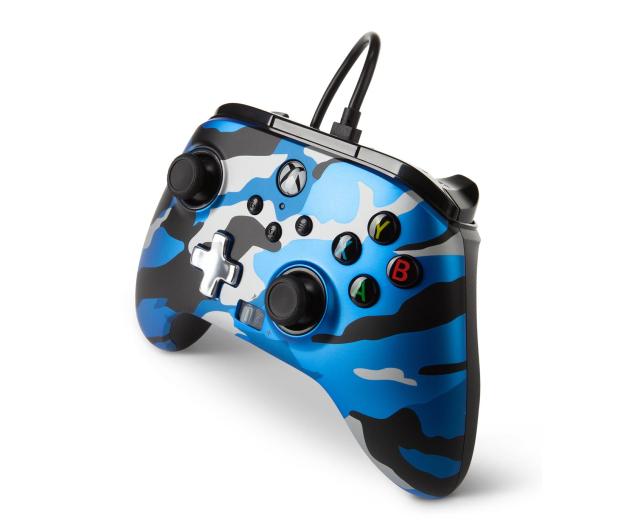 PowerA XS Pad przewodowy Enhanced Metallic Blue Camo - 635895 - zdjęcie 2