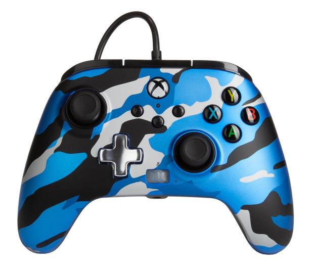 PowerA XS Pad przewodowy Enhanced Metallic Blue Camo - 635895 - zdjęcie