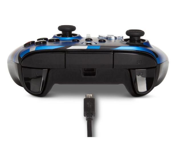 PowerA XS Pad przewodowy Enhanced Metallic Blue Camo - 635895 - zdjęcie 7