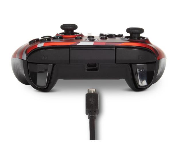 PowerA XS Pad przewodowy Enhanced Metallic Red Camo - 635896 - zdjęcie 6