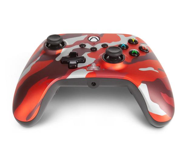 PowerA XS Pad przewodowy Enhanced Metallic Red Camo - 635896 - zdjęcie 3
