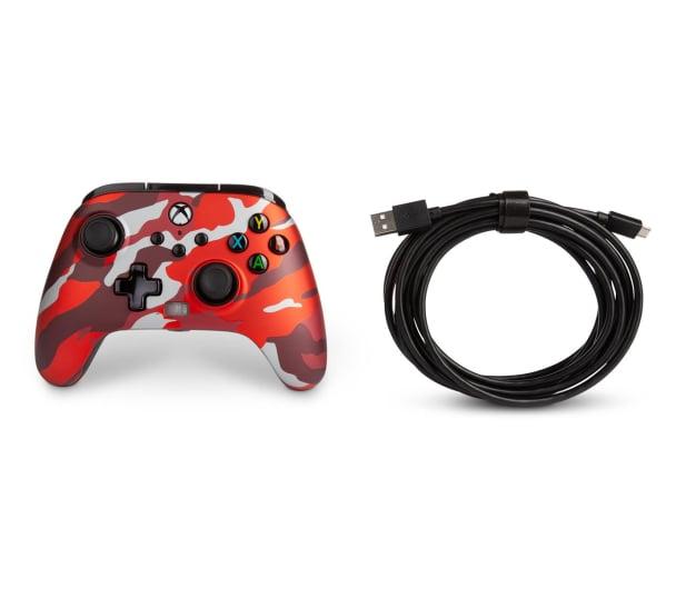 PowerA XS Pad przewodowy Enhanced Metallic Red Camo - 635896 - zdjęcie 8