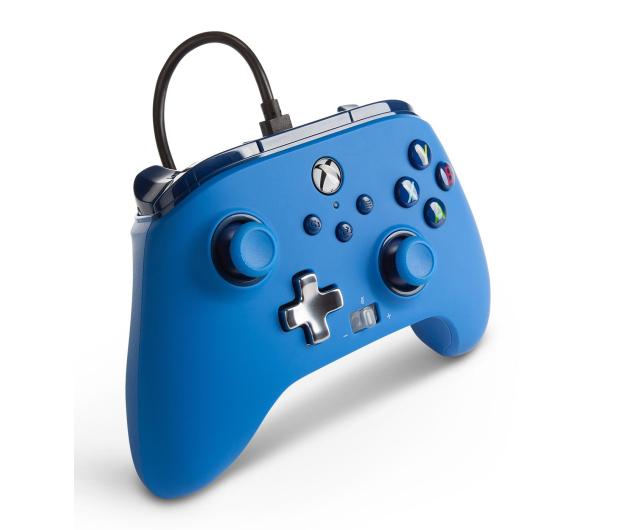 PowerA XS Pad przewodowy Enhanced Niebieski - 635899 - zdjęcie 4