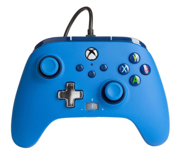 PowerA XS Pad przewodowy Enhanced Niebieski - 635899 - zdjęcie